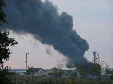 magda_rem1 kolejny pożar w Wólce Kosowskiej
