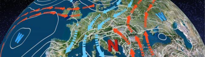 O władzę nad Polską walczy klin wyżowy z zatoką niżową