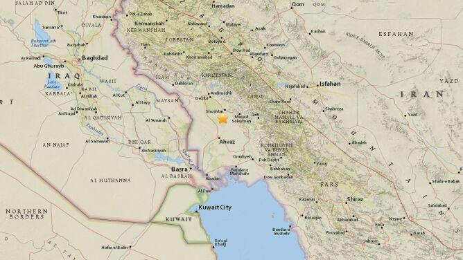 Wstrząs w Iranie