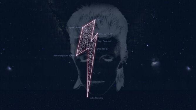 David Bowie ma swoje miejsce na nocnym niebie