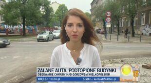 Podtopiony Gorzów Wielkopolski
