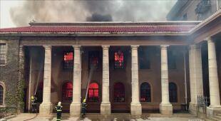 Pożar w RPA